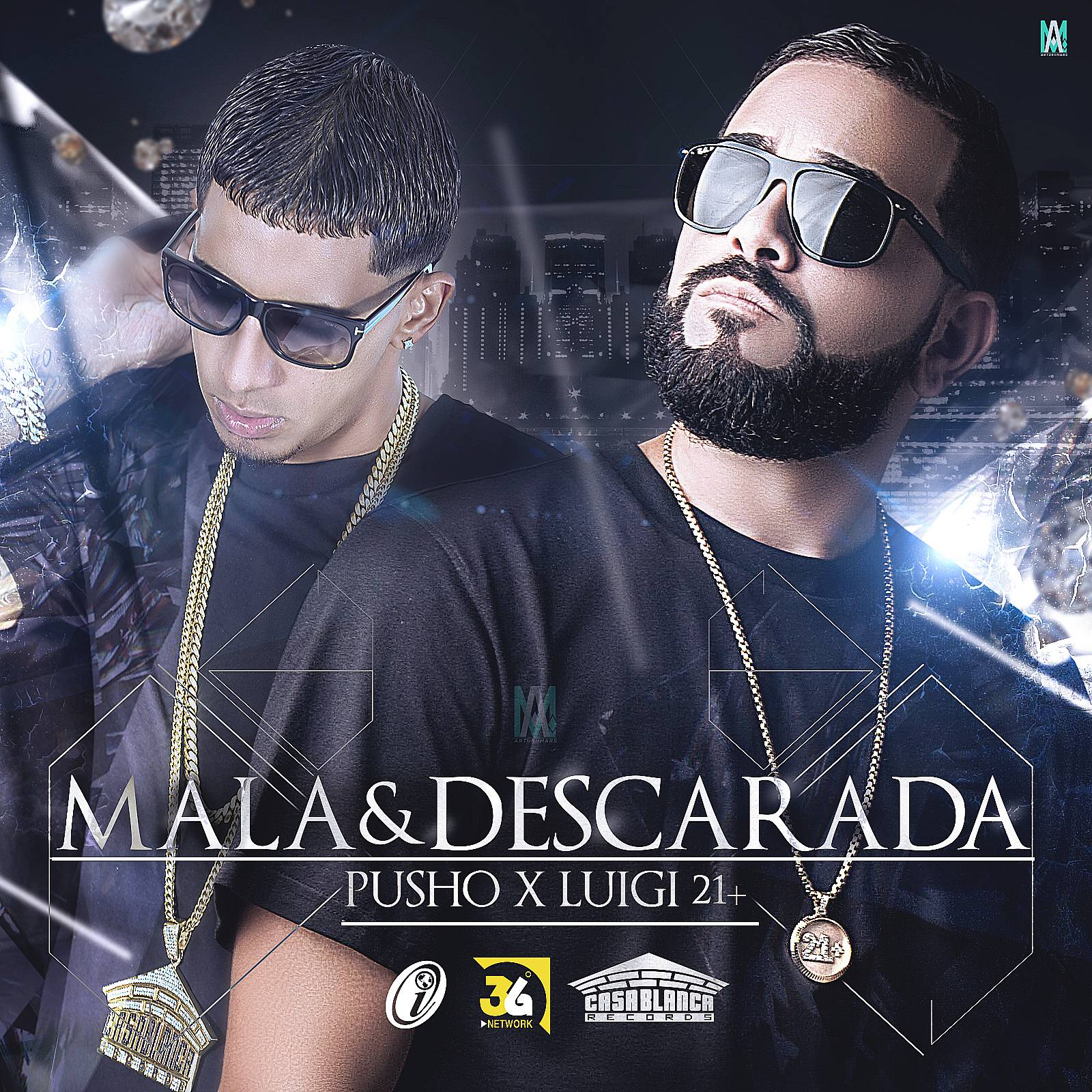 Luigi 21 Plus Ft. Pusho - Mala Y Descarada